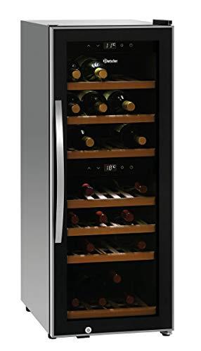 Bartscher Weinkühlschrank 2 Zonen 38 Flaschen - 700130