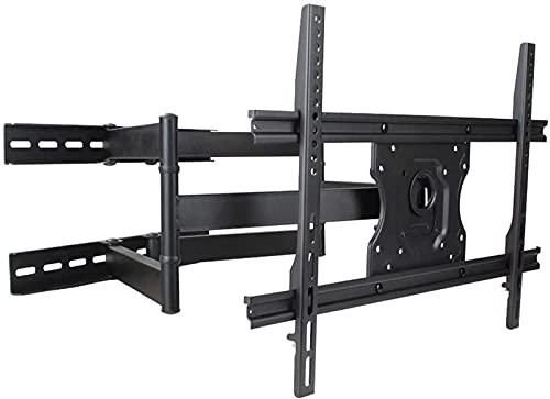 BNFD Soporte para TV Soporte para TV montado en la Pared 37'-70' Soporte para TV Universal Plegable Giratorio Inclina Rotación de extensión para MAX VESA 600x400mm