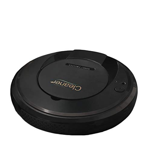 JXQ-N 3-in-1 Saugroboter Smart Staubsauger Roboter mit Wischfunktion Tierhaare und Allergene Optimiert für Teppich & Glattböden,90-100 Min Laufzeit, Roboterstaubsauger (Schwarz)