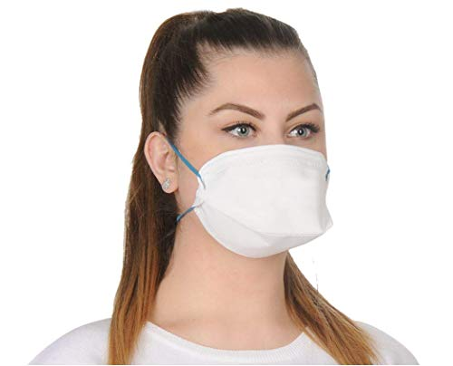 ALCLEAR 10er Set FFP2 antivirale Atemschutzmaske, face mask Partikelfiltrierender Atemschutz, Feinstaubmaske, leichteres Atmen als mit FFP3 - 3