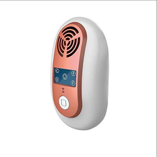 HBBOOI Électronique à ultrasons Anti moustiques Insectes Repeller, Incolore et sans saveur Aucune Radiation No Harm Souris Répulsif for House Restaurant, Orange