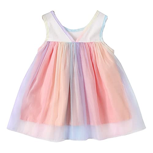 Vestido sin mangas para niñas de 3 a 24 meses, vestido de...
