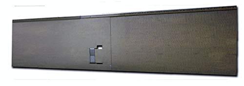 HN Kernstützen Metallwaren Rasenkante, Beeteinfassung und Wegbegrenzung aus Metall in feuerverzinkt 18,5 cm x 1,20 m; 3,45 m; 5,70 m; 11,40 m; 21,60 m, Farbe :verzinkt, Verlegelänge :10er Set 11.40 m