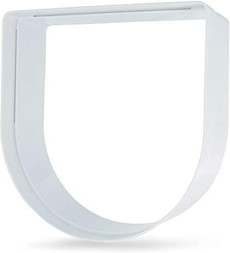 PetSafe - Extension de tunnel pour Chatière manuelle ou chatière électronique pour Chat pucé. 5 cm supplémentaire par extension, pour porte ou mur épais, Blanc