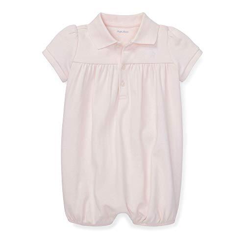 Ralph Lauren Baby Mädchen Interlock Bubble Shortall - Pink - 18 Monate