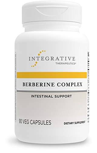 Integrative Therapeutics Berberine Complex - Traditional Gastrointestinal Support Supplement with Barberry, Oregon Grape and Goldenseal Root Extract* - Gluten Free - 90 Vegan Capsules