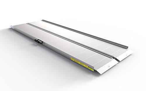EZ-ACCESS TRAVERSE Singlefold Portable Loading Ramp, 8'