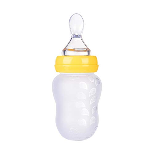 Fantastic Prices! Sanmubo Baby Bottles Baby Feeding BPA Free Silicone Soft Head Spoon Feeding Bottle...