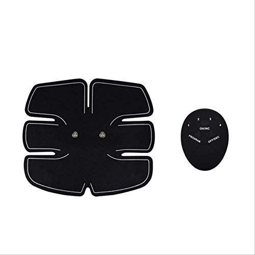 RTGFS Smart Abdominal Training Pad Drahtlose EMS Muskelstimulator Arm Muscle Toner ABS Hüfttrainer Körper Slimmerbelt Gel Pads UnisexABS Trainer