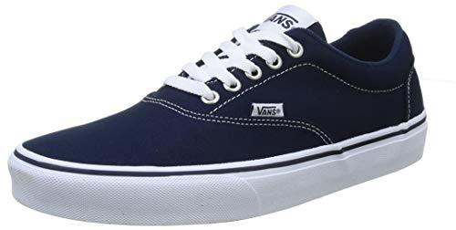 Vans Doheny, Sneaker Hombre, Vestido de Lona Azul Blanco, 42.5 EU