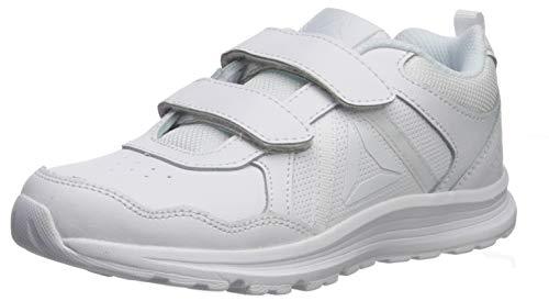 Reebok Boy's Almotio 4.0 Running Shoe, White, 1 M US Big Kid
