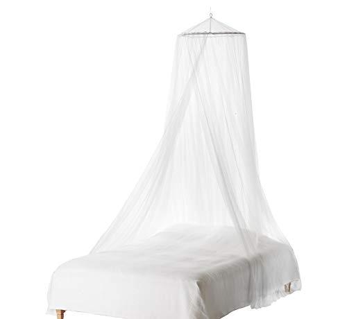 XXL-Format Doppelbett Moskitonetz Flystopper, XXL Mückennetz inkl. Aufhängeschnur, Betthimmel, Mückenschutz, Moskitoschutz,Insektenschutz auch auf der Reise, Insektennetz Grösse XXL 250 x 60 x 1400 cm