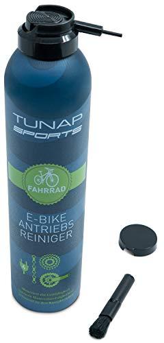 TUNAP SPORTS E-Bike Antriebsreiniger, 300 ml | Reinigung von Antrieb, Kette und Ritzel speziell für das Elektrofahrrad| aufsteckbare Pinselbürste - 4