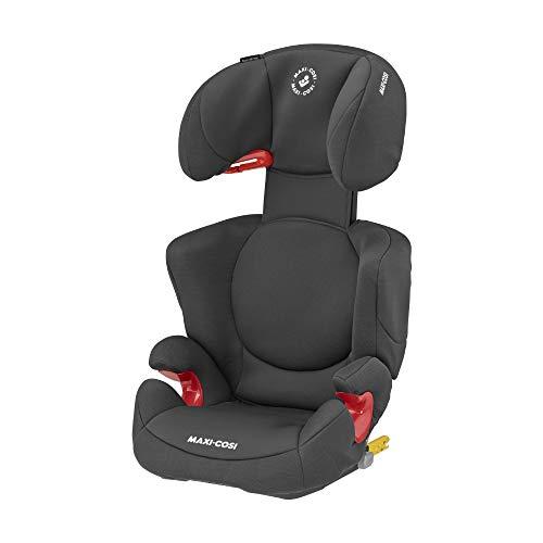 Maxi-Cosi Rodi XP FIX Kindersitz, Mitwachsender ISOFIX Kinderautositz der Gruppe 2/3 (15-36 kg), Nutzbar ab ca. 3,5 bis 12 Jahre, Basic Black (schwarz)