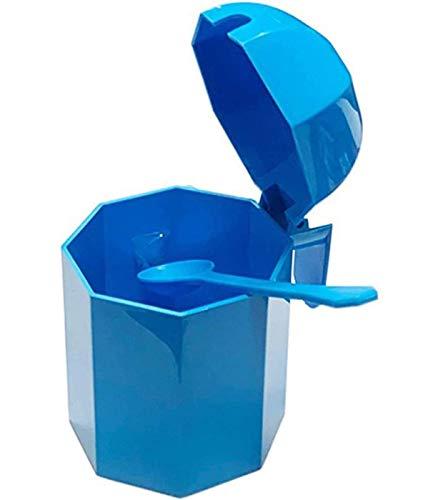 Bg Spazio - Azucarero plástico con cucharita de Color Surtido