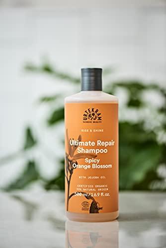 Urtekram Rise & Shine, champú de azahar, orgánico 500 ml
