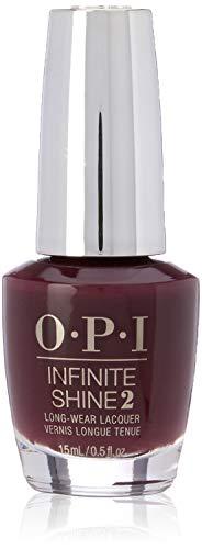 OPI - Vernis à Ongles - Infinite Shine - Nuances de Rouge - Stick to Your Burgundies - Qualité professionnelle - 15 ml