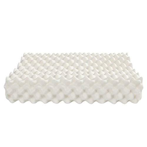 La almohada con memoria para el cuello alivia la f Cervical almohada cuello protección Tailandia importan almohadas naturales látex para la almohada ortopédica para dormir con funda de almohada almoha