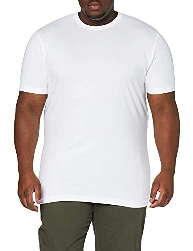 LERROS Herren LERROS Herren Rundhals T-Shirt Doppelpack T-Shirt,,per pack Weiß (White 100),Large