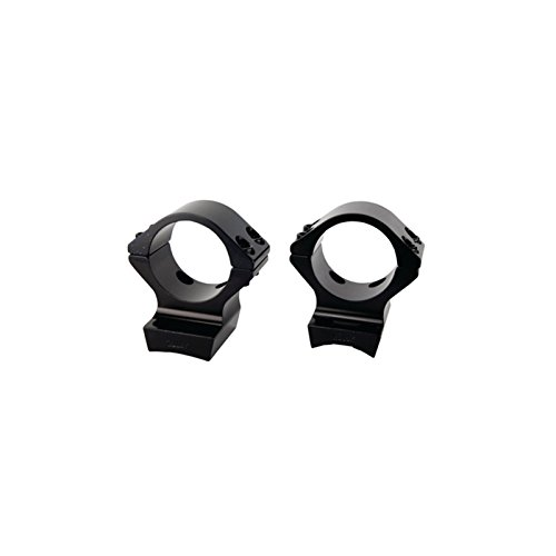 Browning X-Lock Integrated Scope Rings - 1in Gloss.400in Standard Height 12504, Multi