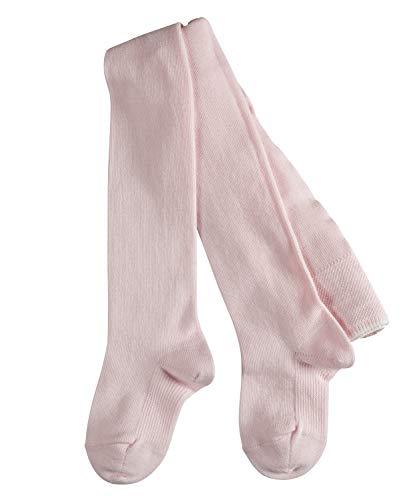 FALKE FALKE Unisex Baby Strumpfhose Family, Baumwolle, 1 Paar, Rosa (Powder Rose 8900), 6-12 Monate (74-80cm)