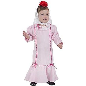 Creaciones Llopis Disfraz de Chulapa Rosa para bebé: Amazon.es ...