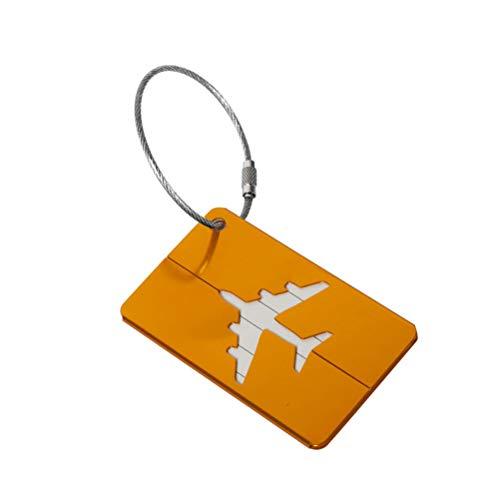 Wing Metal Travel Bagage Tags met RVS Touwen En Naam ID Kaart, Waterdichte Koffer Tags Bagage Bag Identifier/Reizen Accessoires Perfect Om Snel Spot Bagage Koffer