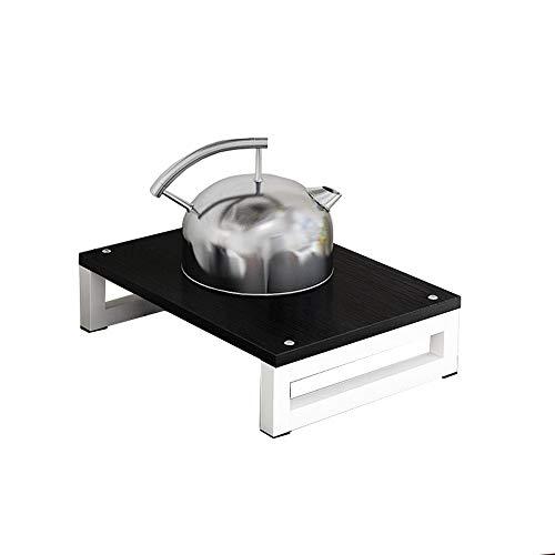 Induction cooker bracket Étagère de Stockage pour Cuisine/Couvercle de Table de Cuisson/Support de cuisinière intégré au gaz Naturel, Couleur: A
