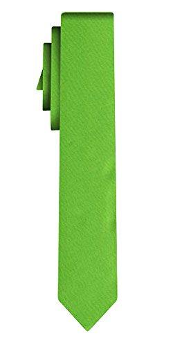 Cravate unie étroite solid powerful light green VII /6cm