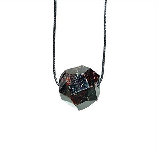 Granat Kristall Anhänger gebohrt