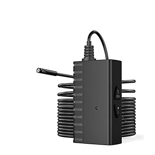 QMMB Cámara De Endoscopio Inalámbrico, Endoscopio Industrial De 5,5 Mm 1080P HD, 6 Luces LED De Brillo Ajustable Y IP67 Impermeable, Utilizado para El Mantenimiento De Automóviles,5.5mm,1 Meter