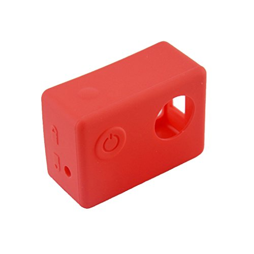 TISHITA #N/A De Silicona Suave A Prueba De Polvo De Protección De La Piel De La Caja para - Rojo