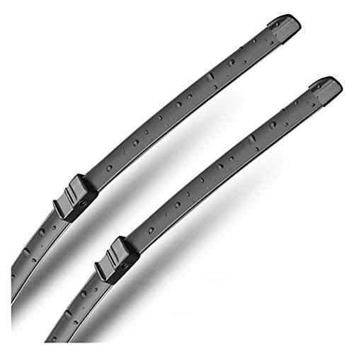 durares Cuchilla de limpiaparabrisas Compatible with BMW X6 E71 F16 2008-2011 2012 2013 2014 2015 2016 2017 2017 (Color : Black Wiper, Item Length : X6 F16 2015 2017)