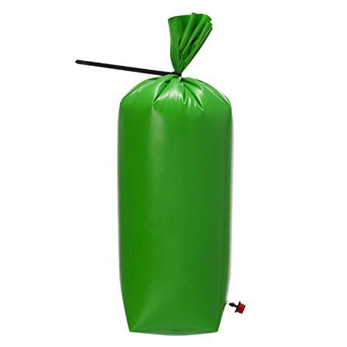 Treebag SACCO DI IRRIGAZIONE in pvc verde 92x86 cm circa 75 litri di acqua sacco per alberi
