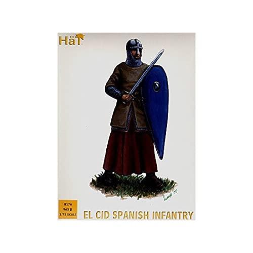 Hat Figures - El Cid Spanish Heavy Infantry - HAT8176
