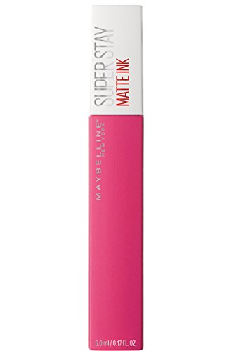 Maybelline New York Tinta Labbra SuperStay Matte Ink, Rossetto Matte Liquido a Lunga Tenuta, Romantic (30), 5 ml