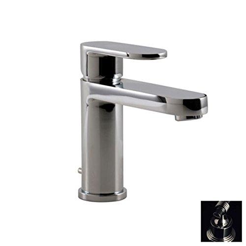 Santec 6680BO10 Estate Bravo Polished Chrome Single Handle Bathroom Faucet