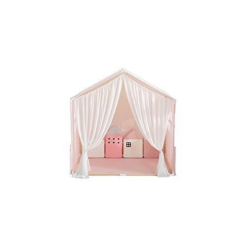 YYFZ Bed Canopy met Lights, Children's tent katoen Gemakkelijk te installeren Opslag handig en draagbaar