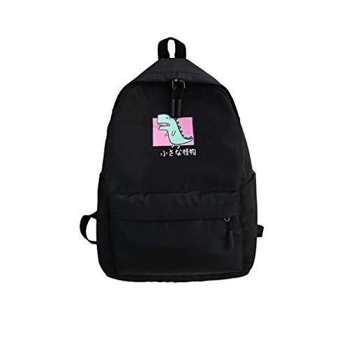 Timogee Rucksäcke Damen Daypacks Schulrucksack Mädchen Schulranzen Jungen Schultasche mit Ergonomischem Design Rucksack Campus Backpack Nylon