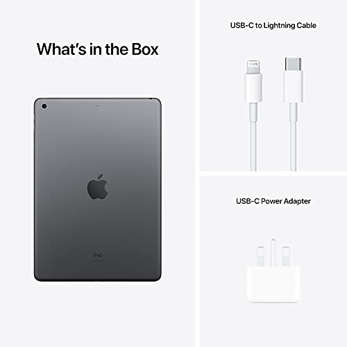 2021 Apple iPad (10.2-inch iPad, Wi-Fi, 64GB) - Space Grey (9th Generation)