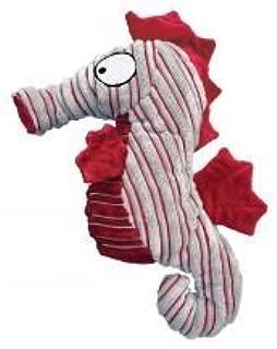KONG CuteSeas Seahorse Squeaker Toy for Dogs Small