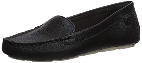 UGG Women's Flores Slip On Shoe, Black, 7.5