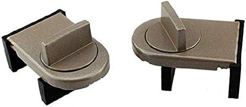 2 stuks Window Lock schuifvleugel Stopper kabinetsstandpunt Limit Spacer Deuren Veiligheid Anti-diefstal Lock Wedge Met Ru...