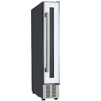 Cookology 15cm Wine Cooler, 7 Bottle Undercounter Freestanding Cabinet Fridge (White) by Cookology