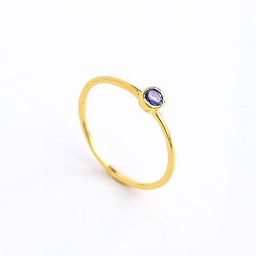 Diamond Iolite Jewelry Set - 6