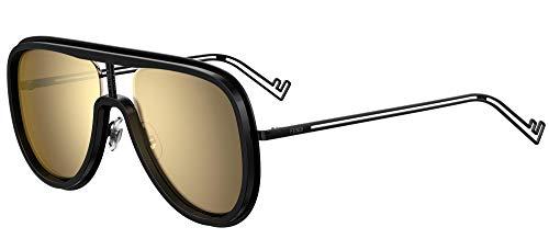 FENDI Gafas de Sol FUTURISTIC FF M0068/S BLACK/GOLD 57/19/145 hombre