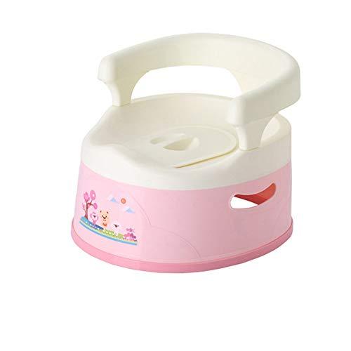 Multiware Siège de Pot Portable Tiroir Design pour Enfant Toilette Bébé Amovible Antidérapante,Pink