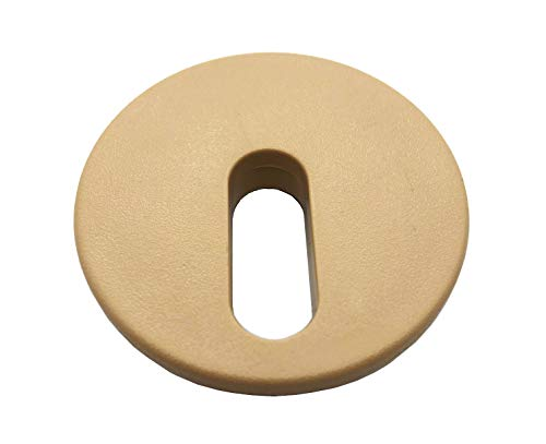 Custom Install Parts Round Tan Taupe Replacement Cap Cover for In Ground Deck Jet Fountain…