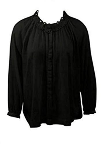Mooie blouse van Saint Tropez in zwart.