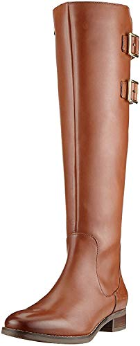 Clarks Damen Netley Ride Stiefeletten, Braun (Tan Leather Tan Leather), 37.5 EU